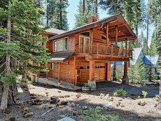 Upscale, Cabin-Style Home Nestled in the Pines-walking distance to Lake Tahoe!