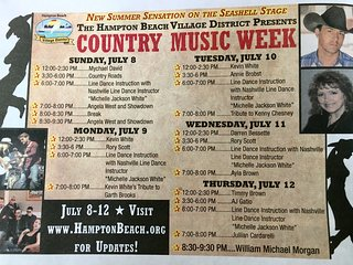 Country Music Week at the Beach!