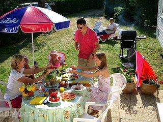 Ref.414★ Beau camping près du Château de la Loire ★ Zoo de Beauval ★ Wifi ★