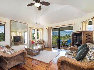 NEW LISTING! Comfortable villa w/ amazing views of Kauai - beach nearby!