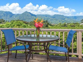 NEW LISTING! Comfortable villa w/ amazing views of Kauai - beach nearby!