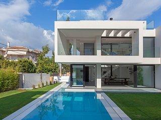 The twin villas