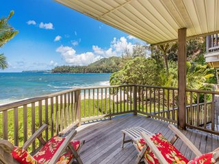 NEW LISTING! Gorgeous, oceanfront house w/stellar ocean views & beach access