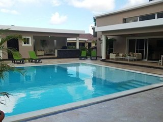 New six bedroom with BBQ and large pool