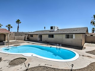 NEW! Lake Havasu City Home w/Pool by London Bridge