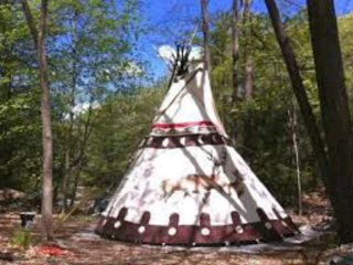 Crescent Moon Tipi
