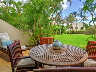 Maui Kamaole #D-109 Ground Floor, Corner Unit, Beach Style, Kamaole III Beach