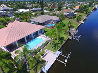 Just Listed! GREAT Location! STUNNING SE Cape Coral Gulf Access Home, Heated Poo