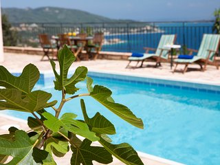 Villa Poseidon - Greek Style Villa with Majestic View of the Bay of Nikiana