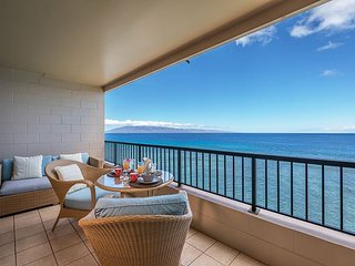 Beautiful 1Bed/1Bath Oceanfront Unit at Maui Kai Ka'anapali Beach Condo 605