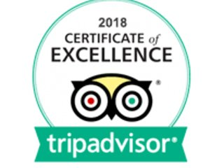 Certificate of Excellence awarded to us in 2018 Certificate of Excellence awarded to us in 2018