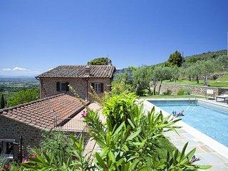 5 bedroom Villa in Cegliolo, Tuscany, Italy : ref 5247569