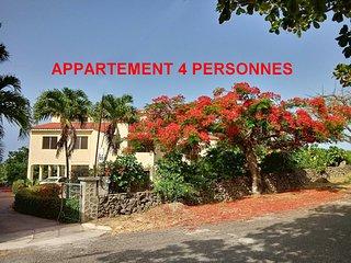 Appartement vue sur mer pour 1 a 4 personnes