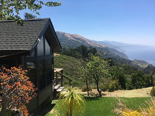 Big Sur Ocean View Sanctuary,  secluded retreat. Near Post Ranch