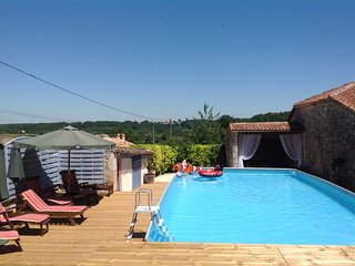Rural gite with private pool, a Tours, Cassignas, Lot et Garonne, Aquitaine