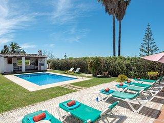 Villa Los Sauces - Piscina estilo playa climatizada