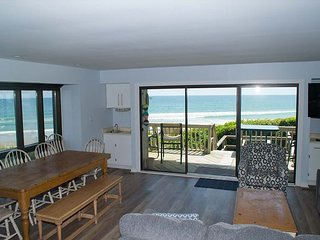 Spacious, multilevel oceanfront condo with great views and recent updates