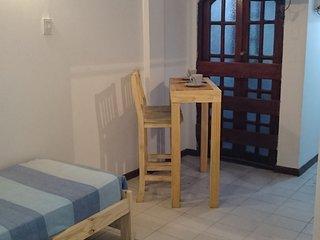 Studio con cocina separada