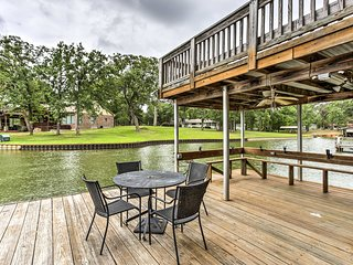 Star Harbor Lake House w/Dock, Deck & 2 Boat Lifts