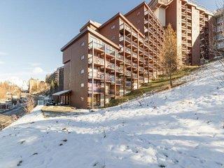 Studio 4 personnes avec balcon expose Sud, residence Grand Arbois