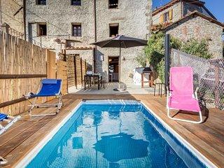 Rental Villa Bagni di Lucca, 2 bedrooms, 5 persons