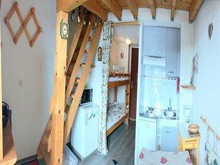 4 pers. 24 m² 3 étage Sud-Ouest