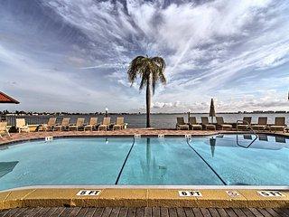 Tropical Paradise! Condo w/Balcony & Pool Access!