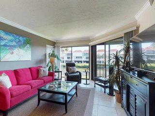 NEW LISTING! Bayfront Holmes Beach escape w/shared pool, dock access & views