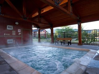 Don't miss seeing the hot springs in the area!
