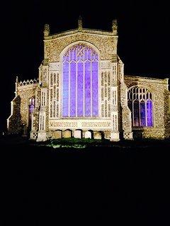 Blythburgh church at night Stunning!