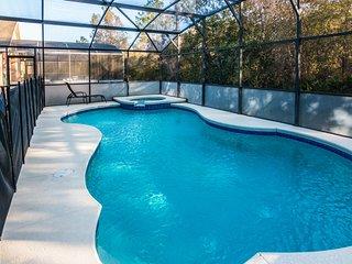 Magical Oasis-Free SPA Heat, WiFi, BBQ, Games Room, Disney/Universal, Orlando