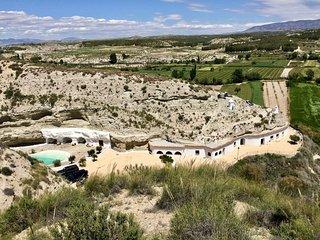 Cueva Aventura Emilia,hébergement troglodyte, Andalousie