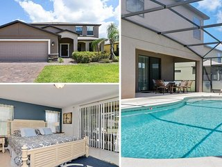 Incredible 6 Bedroom South-Facing Pool Home With Spa + Games Room