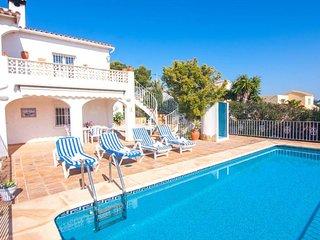 Villa Thomas en Benissa,Alicante para 8 huespedes