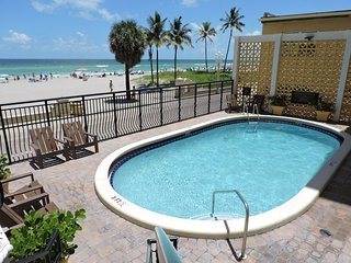 Oceanfront 1/1 for 4, Pool & Beach