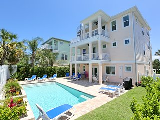 NEW IN 2018! Ocean View Home w/ Heated Pool, Elevator, Rooftop Deck, Sleeps 10