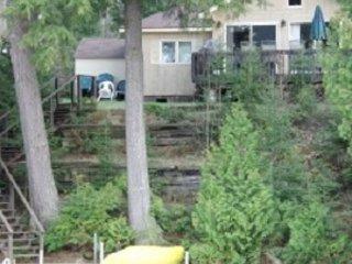 casa con vista al lago