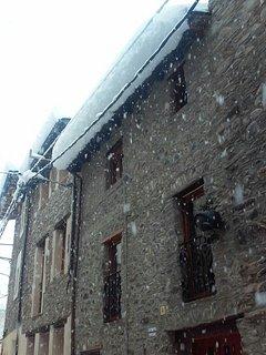 Un día de nieve, invierno del  2018.