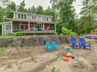 NEW LISTING! Waterfront vacation rental w/ a full kitchen & private dock