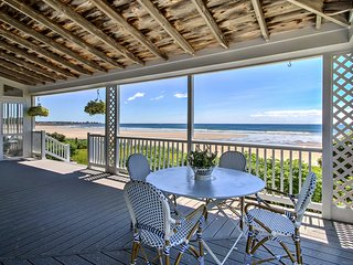 NEW! Beachfront Kennebunk Cottage w/ Ocean View!