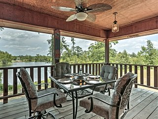 NEW-Minden Home w/Deck Overlooking Dorcheat Bayou
