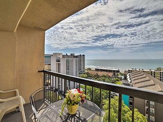 Myrtle Beach Resort Condo w/ Stunning Ocean Views!