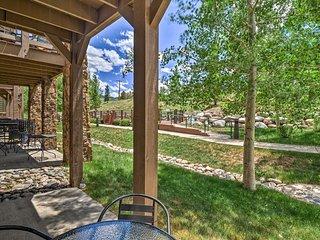 Breck Getaway w/ Patio, Grill & Resort Amenities!