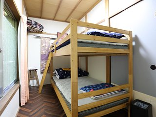Japan Countryside HAKONE B&B Bunk Bed Room