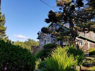Hilltop Beach Home With Ocean Views Open Floor Plan & Five Minute Walk To Beach