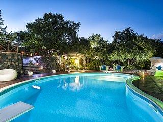 5 bedroom Villa in Villa Milia, Sicily, Italy : ref 5247307