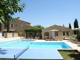 12 bedroom Villa in Les Gros Clements, Provence-Alpes-Cote d'Azur, France : ref