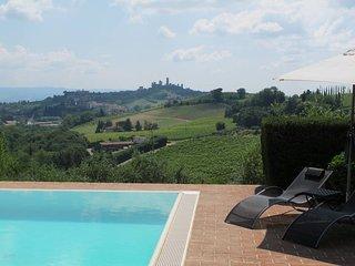 2 bedroom Villa in San Gimignano, Tuscany, Italy : ref 5639746
