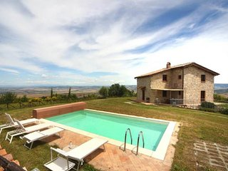 4 bedroom Villa in Campiglia d'Orcia, Tuscany, Italy : ref 5639277