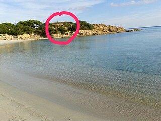 Villa sul mare cala liberotto